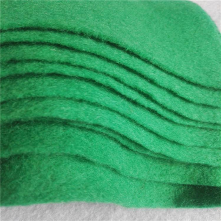 厂家直销工地绿色防尘布 专用涤纶无纺土工布