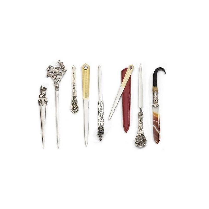厂家定制速卖通复古拆信刀 亚马逊外贸金属开信刀裁纸刀定做