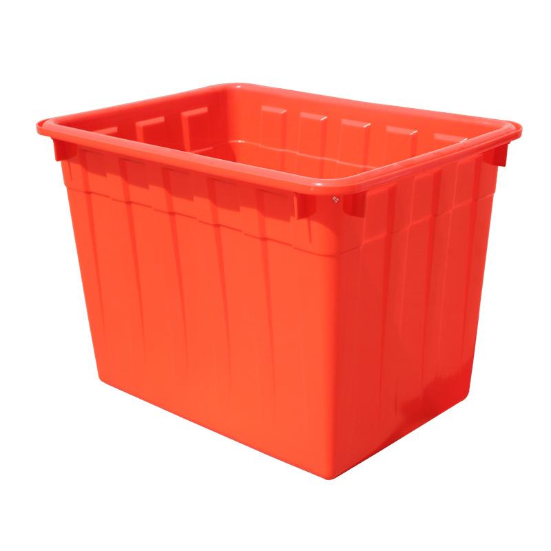 林辉跨境专用 厂家直接批发 水产水箱全新材料工业 160L蓝色塑料水箱
