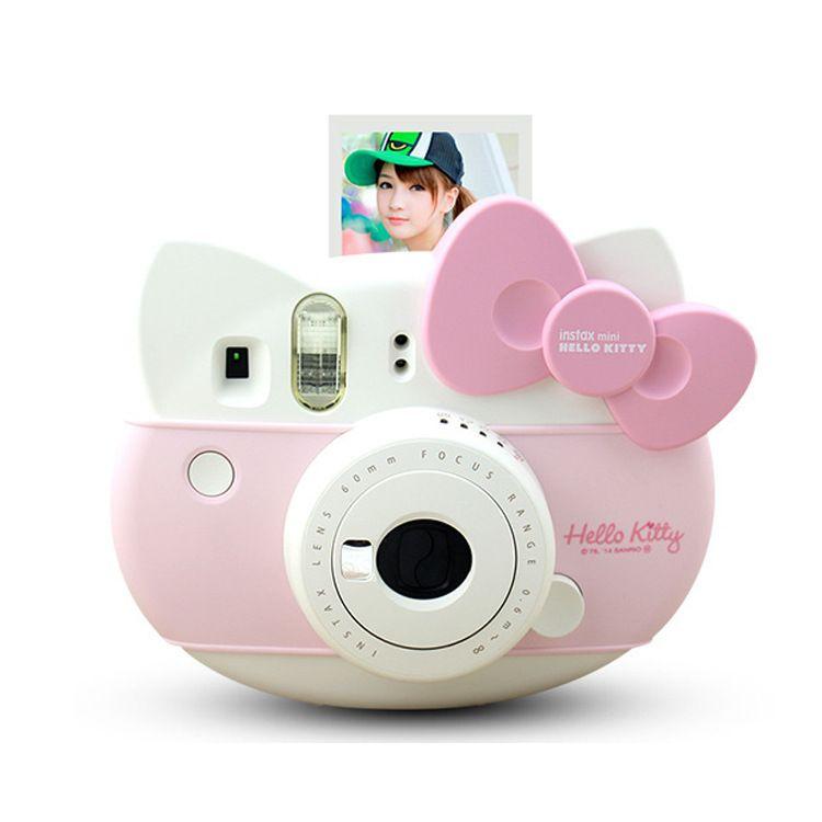 礼品 富士拍立得一次成像相机 hellokitty猫头拍 立拍得Mini8相机