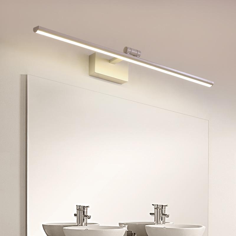 镜前灯led简约现代浴室卫生间化妆灯镜灯防水防雾壁灯北欧镜柜灯