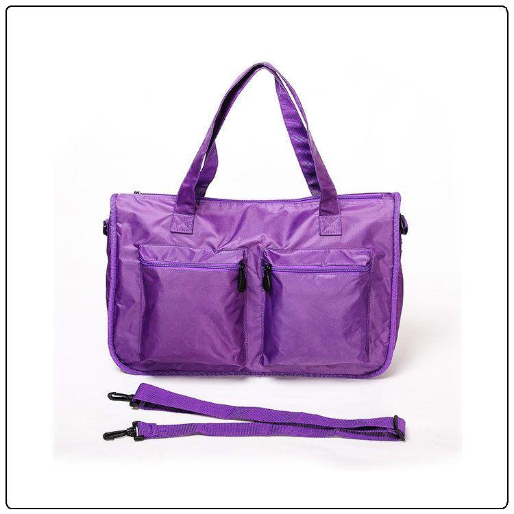 厂家定制斜挎妈咪包 轻便大容量防水尼龙单肩女士包可斜跨母婴包时尚潮流