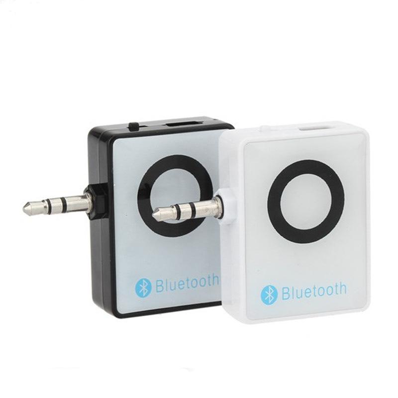 热销车载蓝牙适配器 3.5MM蓝牙免提通话接收器 音频接收发射器