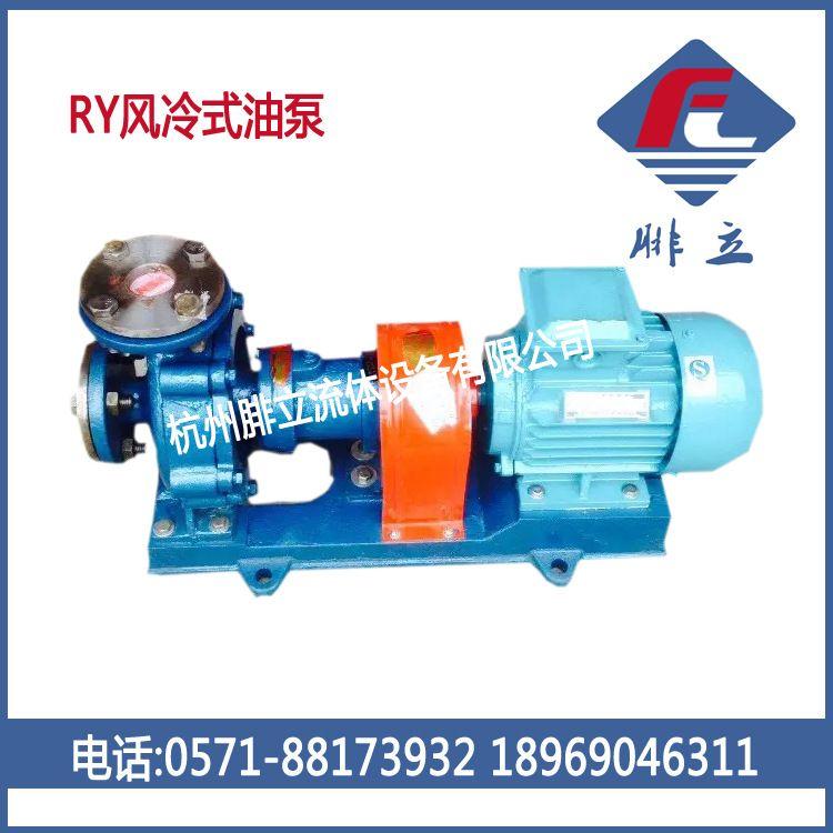 供应BRY65-50-160型风冷式热油泵 高温热油泵 导热油泵 高温油泵