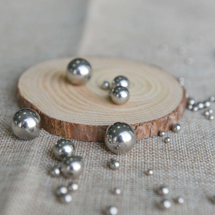 精密轴承实心铸造滚珠硬质耐磨 铁球压缝球锻球弹珠不锈钢钢珠
