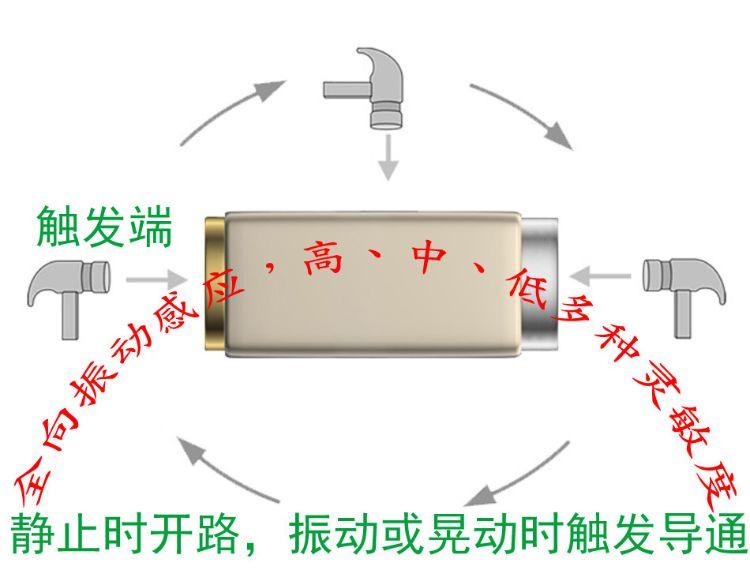 厂家供应 CSX-SEN-500A低频振动传感器 全向振动传感器