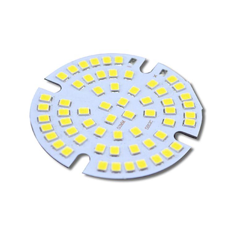 路灯玻璃透镜led灯珠模组 60W700mA厂家 路灯圆形灯珠模组2835