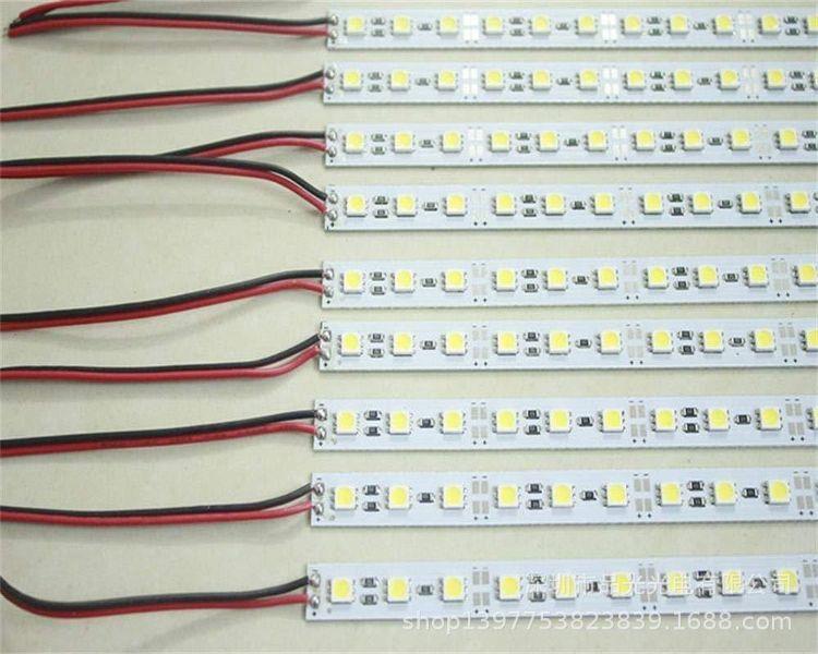 5050硬灯条 72灯硬灯条 12V硬灯条 柜台灯 柜台灯条 鞋柜灯条