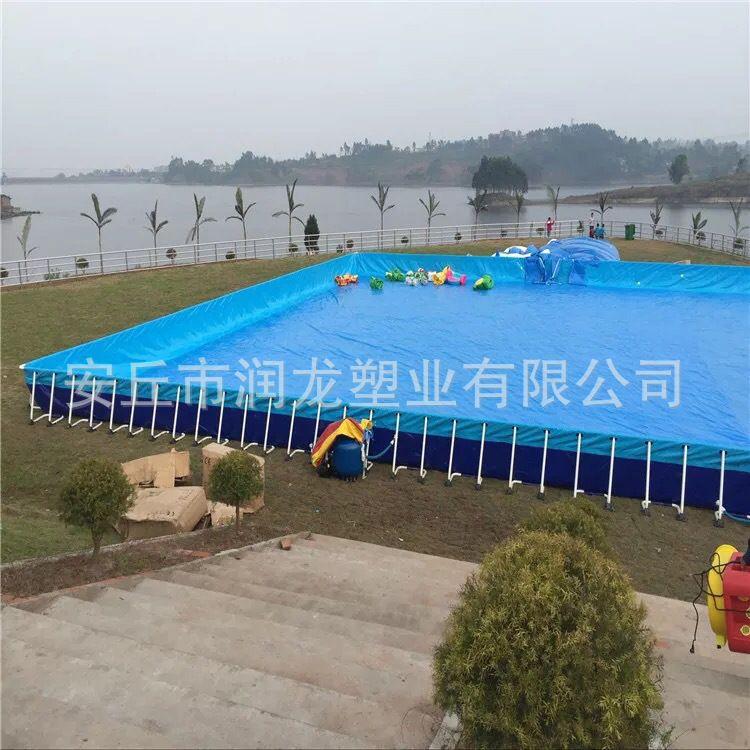 拼装游泳池 厂家直销钢结构 适用于酒店别墅儿童教育教学润龙品牌