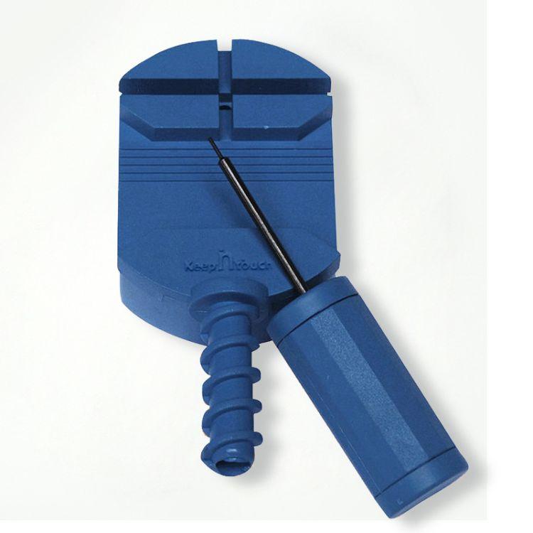 多功能调节器手表钢带皮带配件拆卸调表器蓝色方便全国包邮可批发