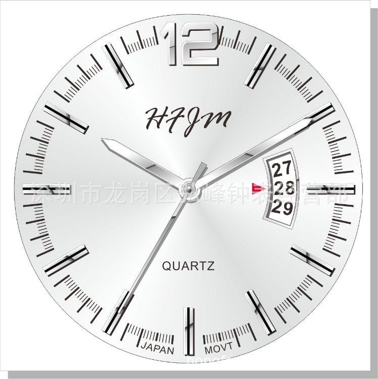 厂家长期供应中高档钟表表面 表盘加工字面定制字面 表面加工定制