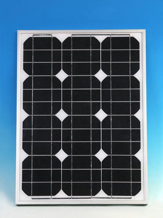 太阳能电池板厂家 80W单晶太阳能电池板  监控供电太阳能板