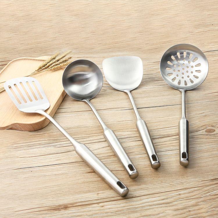 厨房工具厨具不锈钢锅铲勺子加厚炒菜铲子可定制LOGO