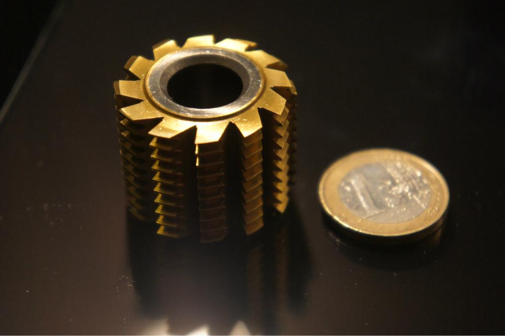小模数硬质合金滚刀-非标定做-小笠原代工厂