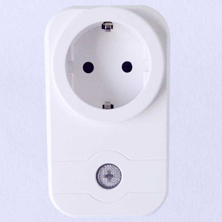 跨境热销智能家居 wifi插座 amazon语音控制 欧规智能插座 雅白色
