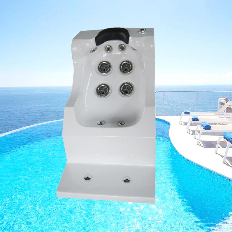 郑州鼎泰 水疗设备SPA太空按摩座椅 亚克力按摩躺椅 浴池温泉泡池洗浴设备