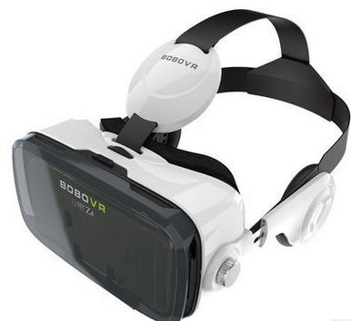 小宅Z4立体声VR眼镜z4 vr box虚拟现实3d眼镜耳机头戴手机