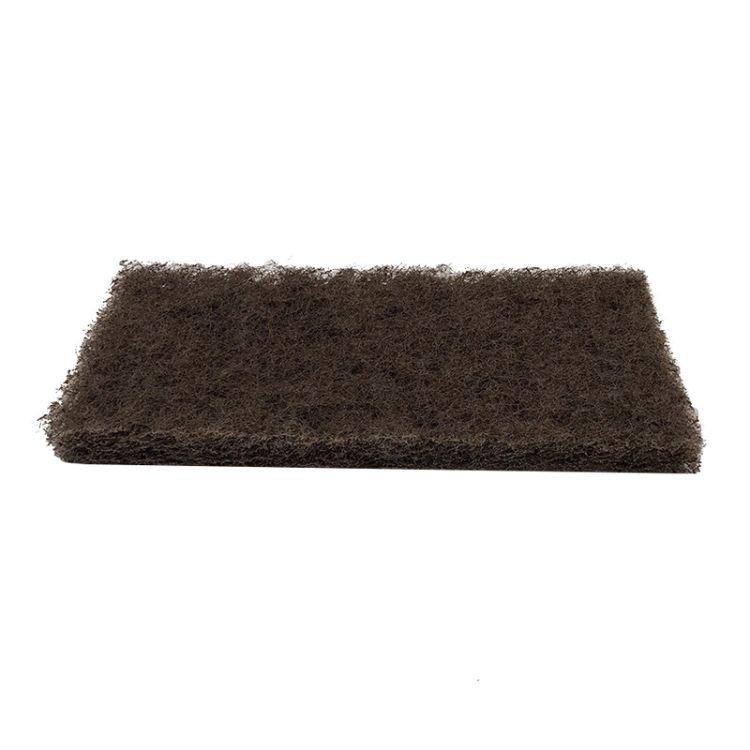 3M 8541 棕色工业劳保百洁布 清洁去毛刺抛光布除锈布
