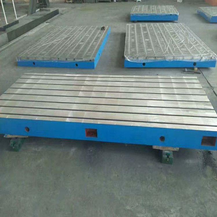 宏双厂家供应各种规格铸铁平台人工刮研检验测量划线焊接铸铁平板现货