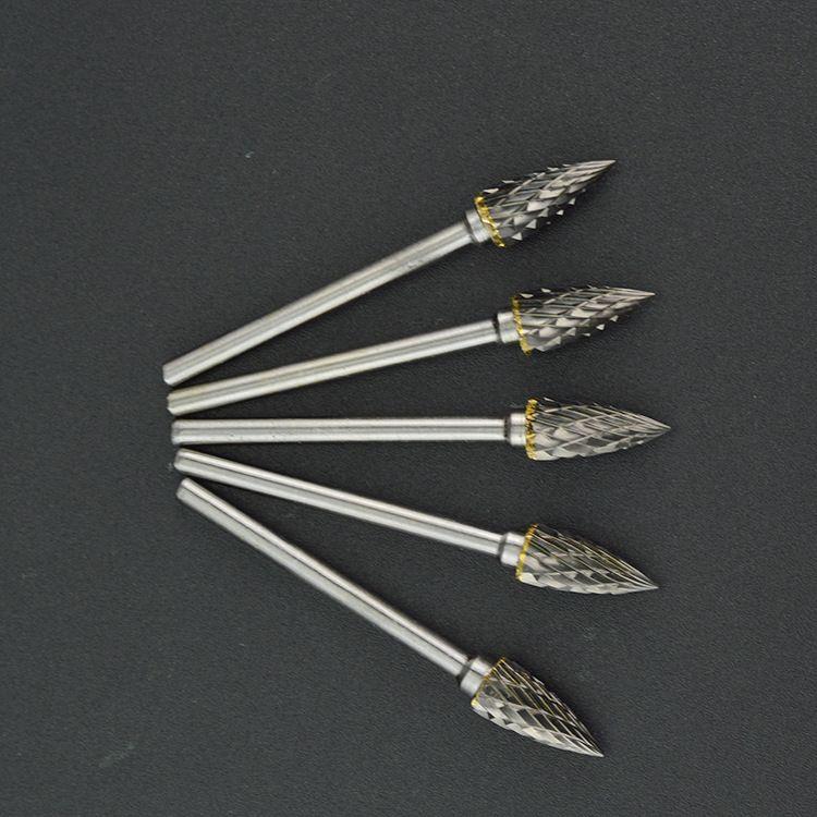 余姚厂家批发弧形尖顶G型硬质合金旋转锉定制各种规格钨钢打磨头