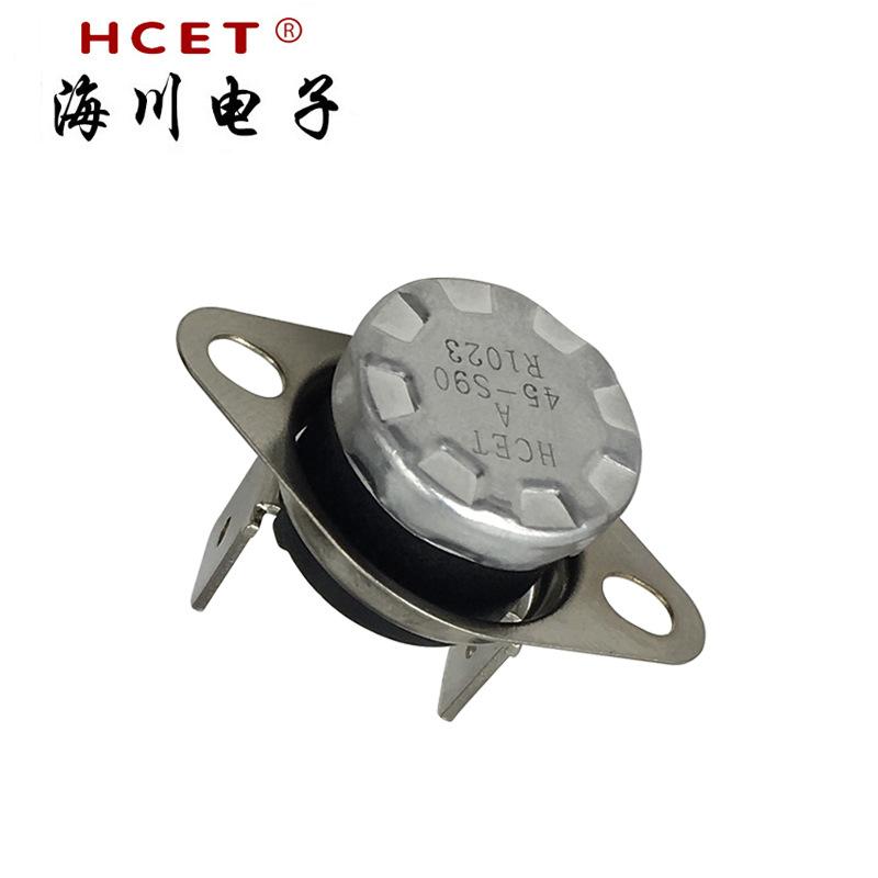海川·HCET温控开关ksd301突跳式温控器 热保护器HC301 电热水壶温度开关