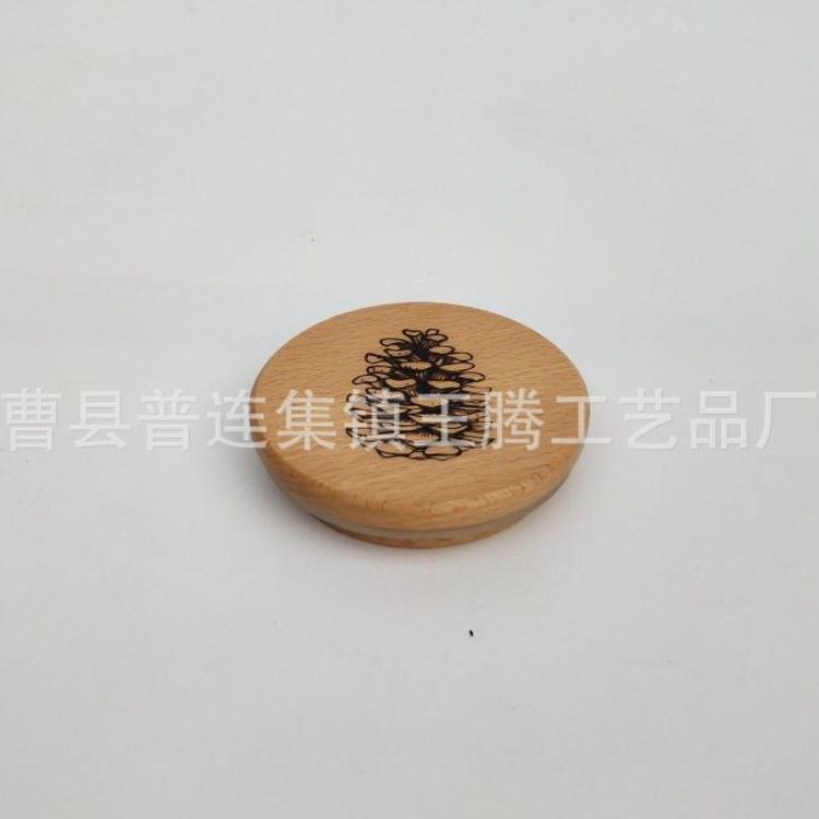实木木盖木质瓶盖木制竹盖瓶盖 化妆盒木盖定制大小盖子