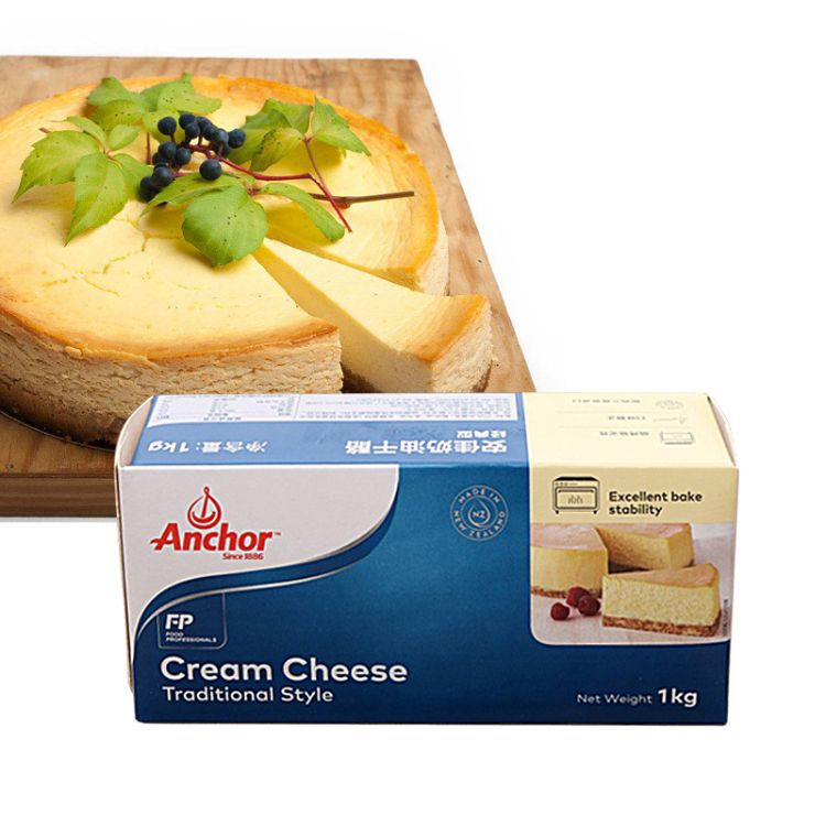 安佳忌廉芝士安佳奶酪 安佳奶油芝士 奶油乳酪  1kg*12盒