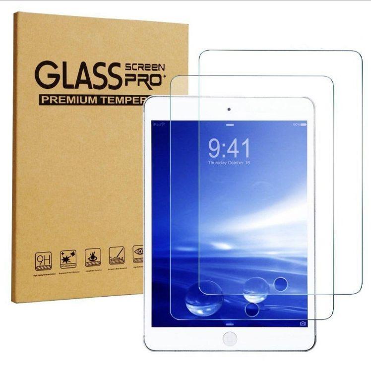 适用2018版新ipad 9.7钢化膜air1/2 2017平版保护膜超薄玻璃mini3