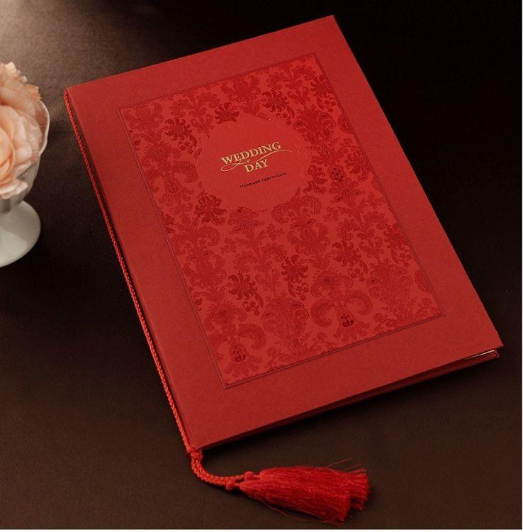 婚庆用品纪念结婚用品婚礼宣言爱情道具誓言册宣誓本保证书签到本