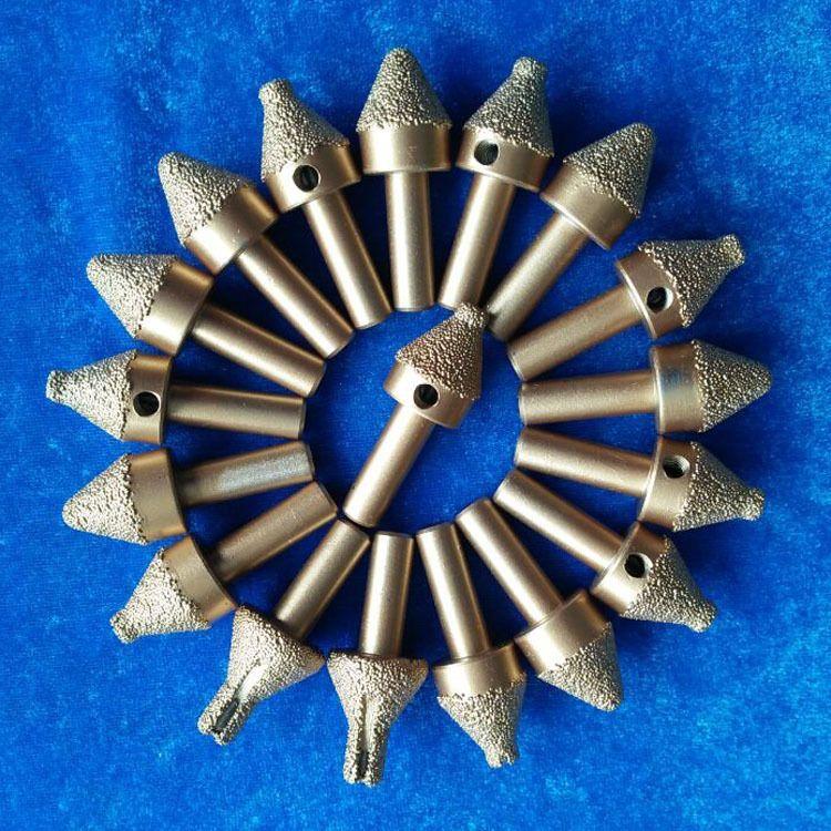 科美磨具 钎焊金刚石/CBN砂轮磨头孔钻  任意规格均可定做