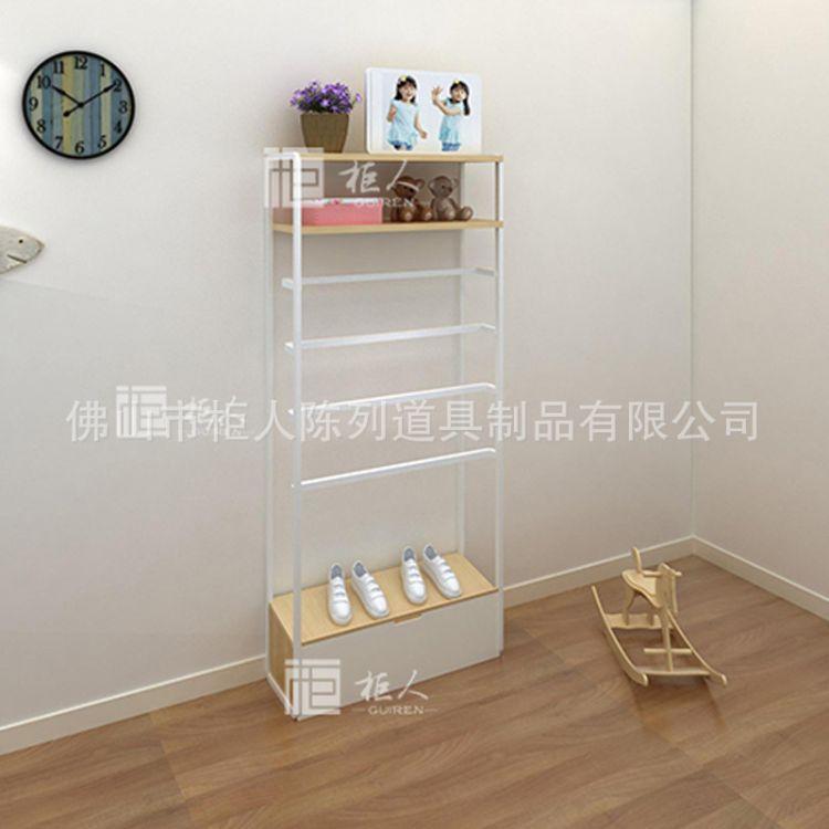 柜人展示L1100*W350*H2400童裝店貨架擺設圖片 兒童服裝展柜 廠家直銷