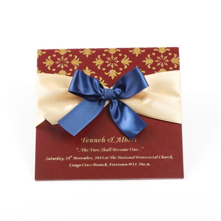 豪华高端定制婚礼卡邀请盒设计婚礼请柬