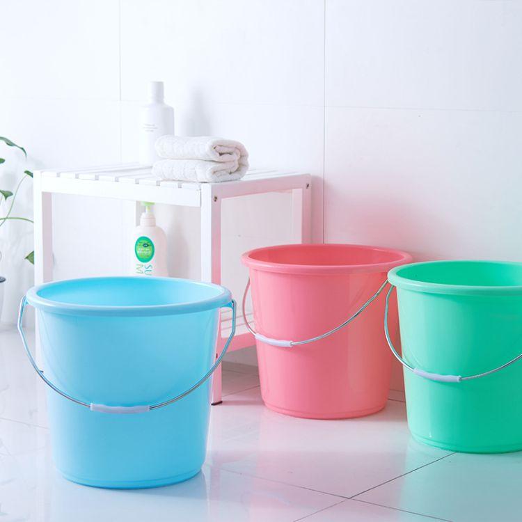 厂家直供手提水桶家用大号加厚洗衣桶储水桶洗车圆桶塑料桶洗衣桶