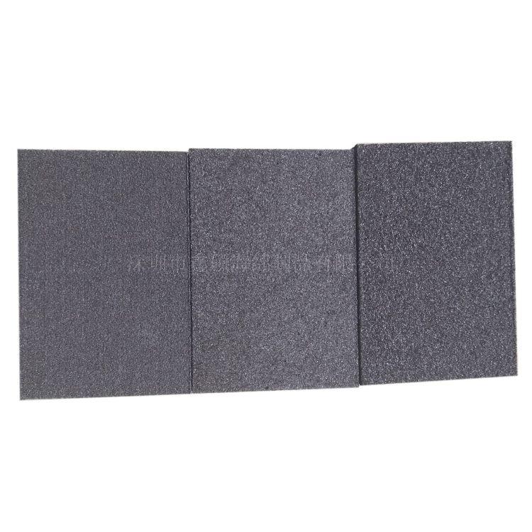 厂家供应高密度干水磨砂纸磨块薄片木工海绵砂块