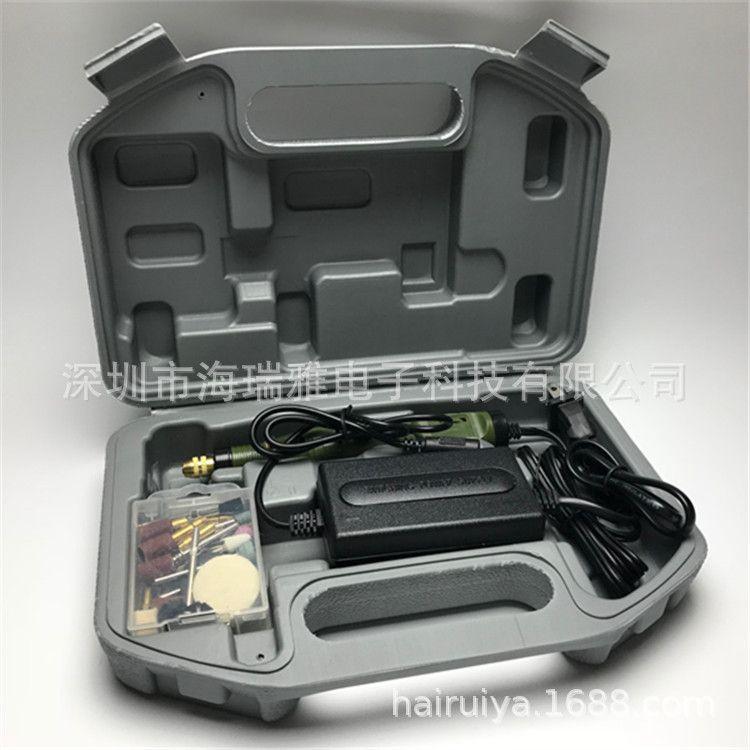 P500 2中性迷你电磨套装雕刻笔调速打磨抛光微型电钻文玩除胶工具