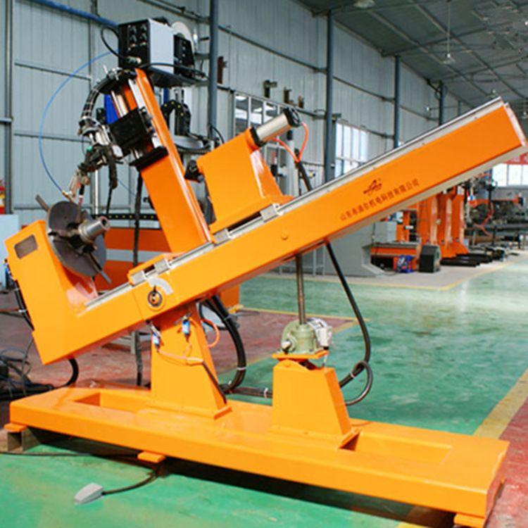 厂家直销氩弧焊自动焊机 卧式钢管法兰自动焊机