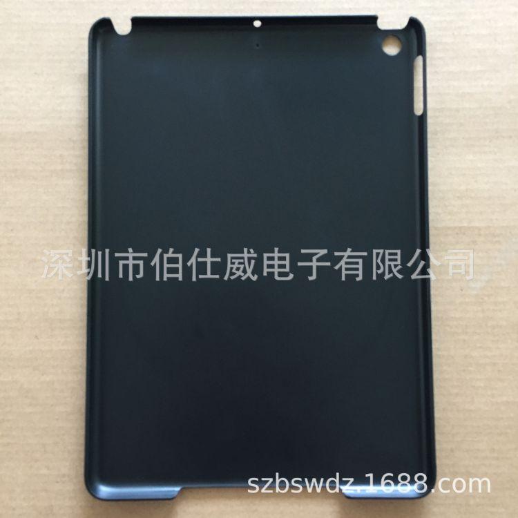 iPad5 2017 2018 iPad9.7通用连口磨砂左后侧带防滑点pc单底壳