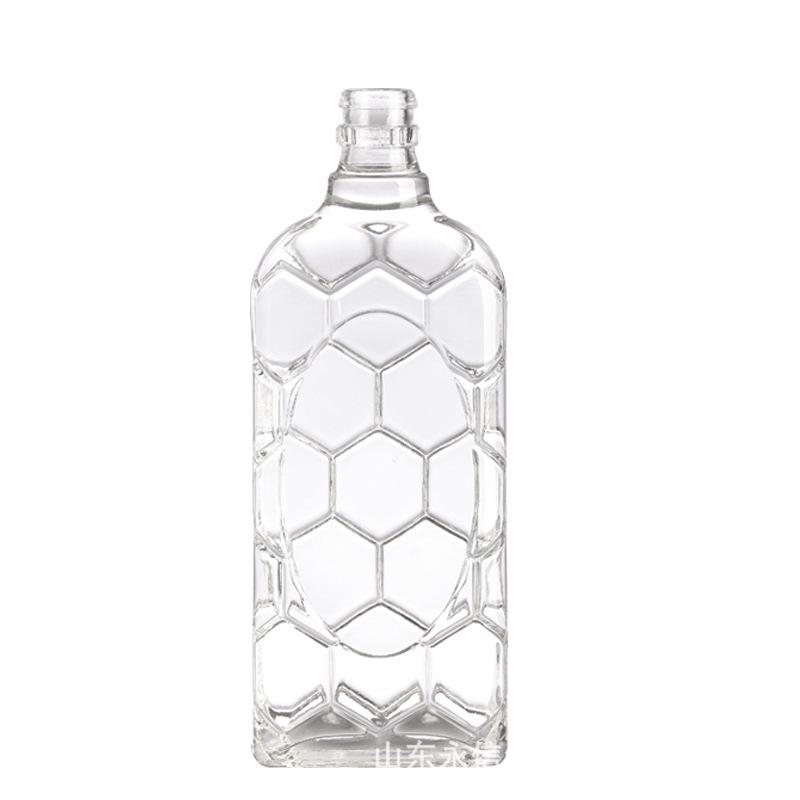 厂家直销供应500ml玻璃瓶白酒瓶 红酒瓶 375ml饮料瓶-油瓶
