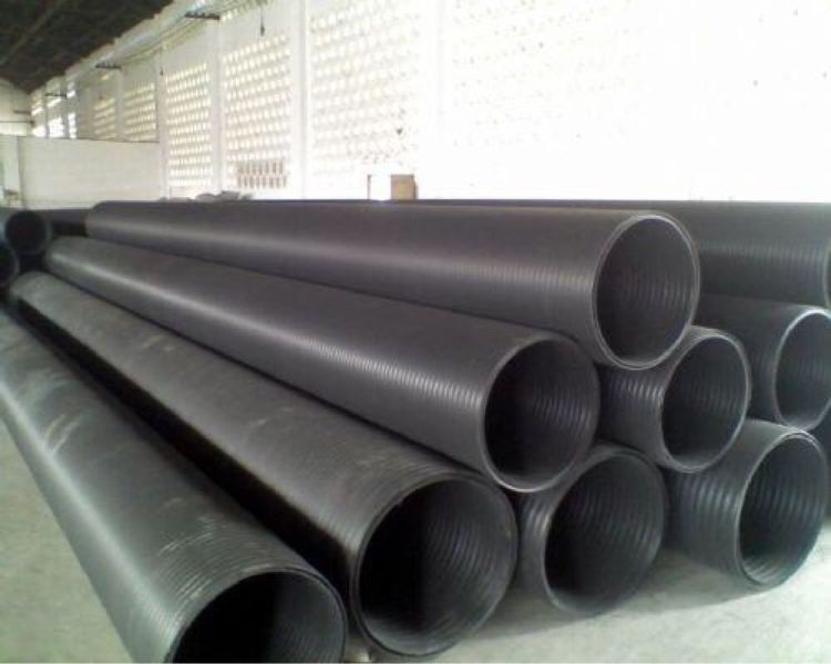 HDPE双壁缠绕管上海明国牌PE缠绕管厂家直销批发