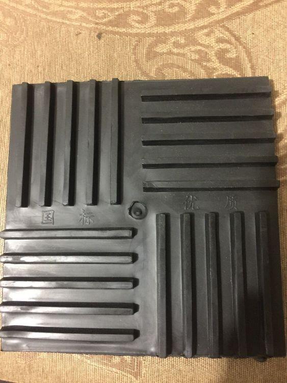 厂价直销 橡胶减震垫 绝缘减震效果好 对折不断  机器设备专用减