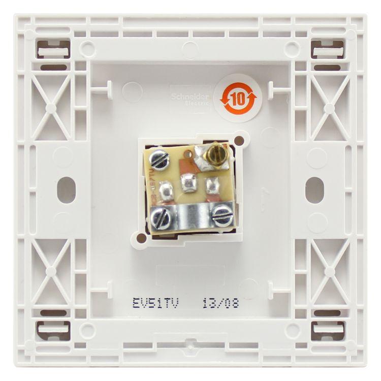 一位电话插座 电话插座 电话插座批发 防撞阻燃抗冲击力 施耐德