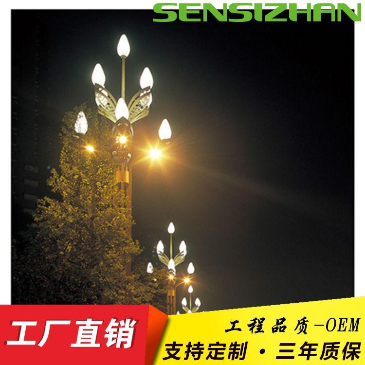 户外照明中华灯 高速路口 别墅区广场LED玉兰灯 荷叶灯,户外照明中华灯,LED玉兰灯,荷叶灯