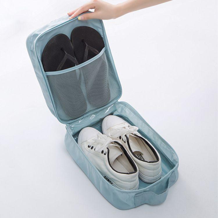 户外旅行鞋子收纳袋旅游出差鞋子收纳包装鞋袋防尘袋防水 3鞋位