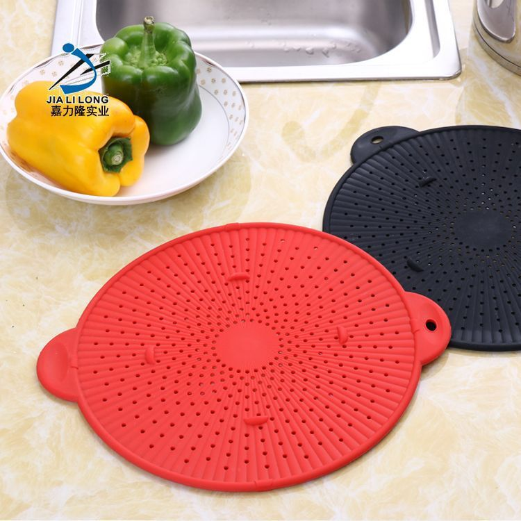 JLL工厂跨境硅胶 滤水分离器 滤水垫 挡水板 隔热垫 隔水板