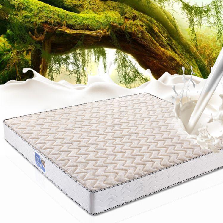 乔帝家用单人乳胶弹簧床垫双人席梦思天然乳胶记忆棉床垫批发厂家
