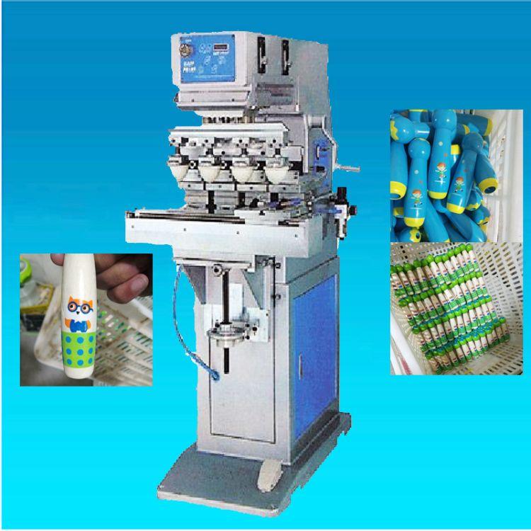 自动四色油墨移印机销售 骏晖印刷机械 穿梭四色移印机厂家 可定制全自动