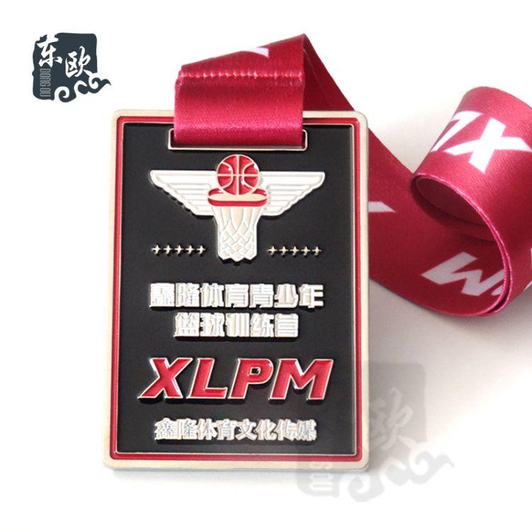 厂家直销金属奖牌 运动会竞赛活动创意奖章定做 可来图定制加logo