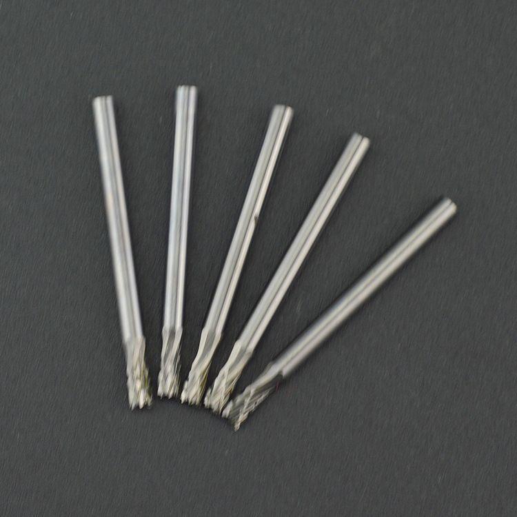 加工金属制品硬质合金钨钢旋转锉N型带端刃式钨钢滚磨刀