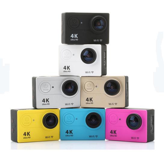 迷你数码相机户外4K超高清潜水运动DV无线遥控广角摄像机