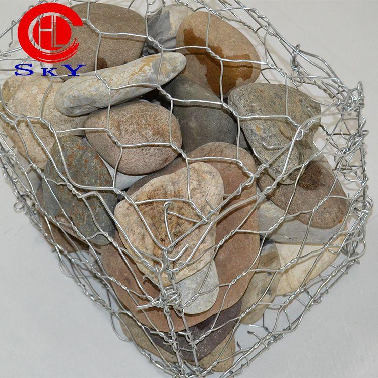 直销 石笼网格宾 包塑石笼网箱价格 镀锌石笼 加工定做